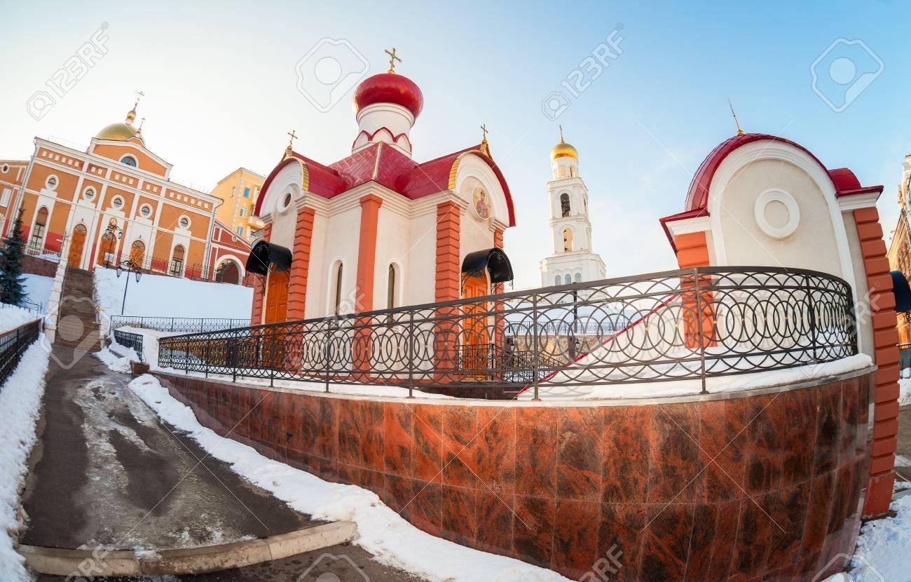 ロシア正教の教会。サマーラ, ロ...