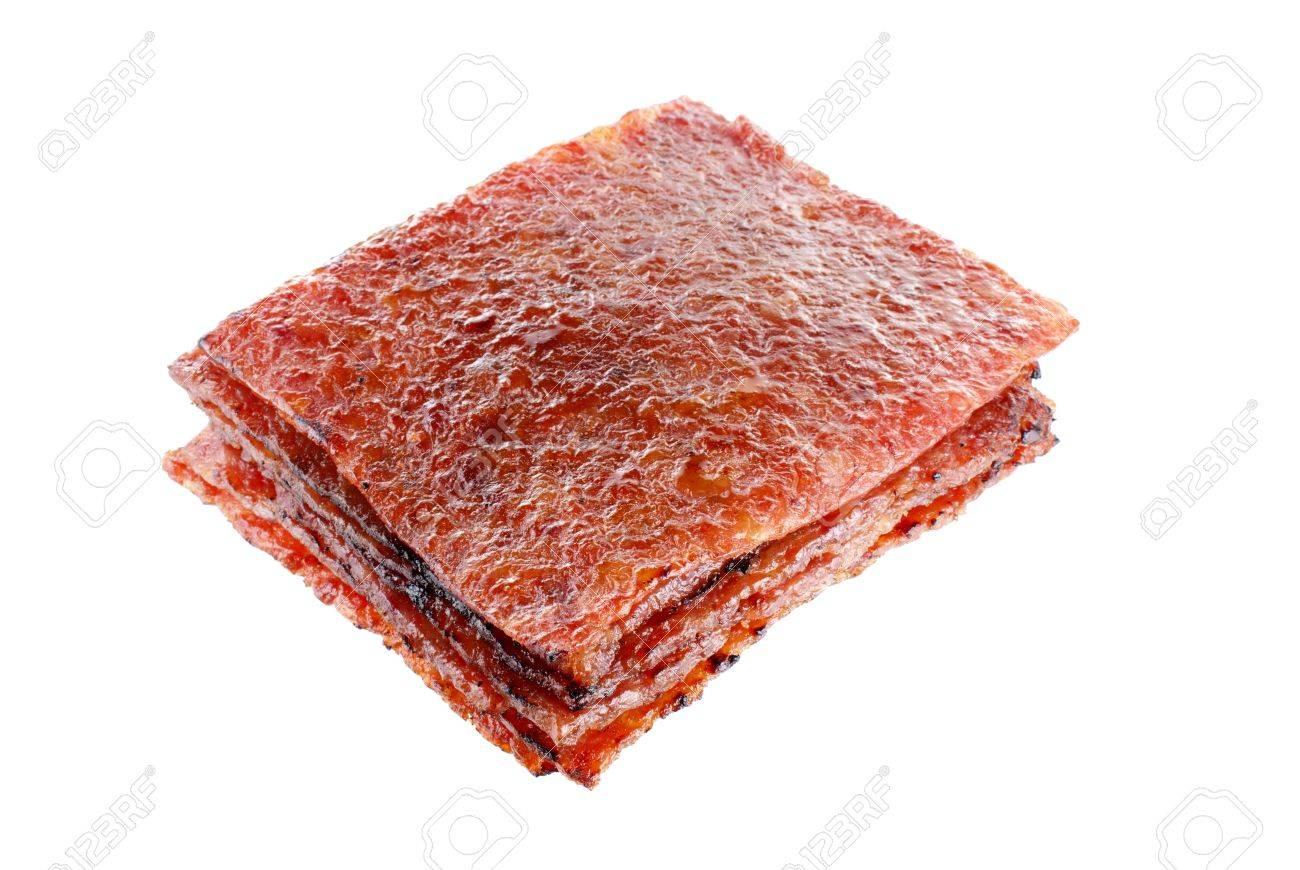 Sliced Pork Recipe Sliced Pork Jerky Also Known