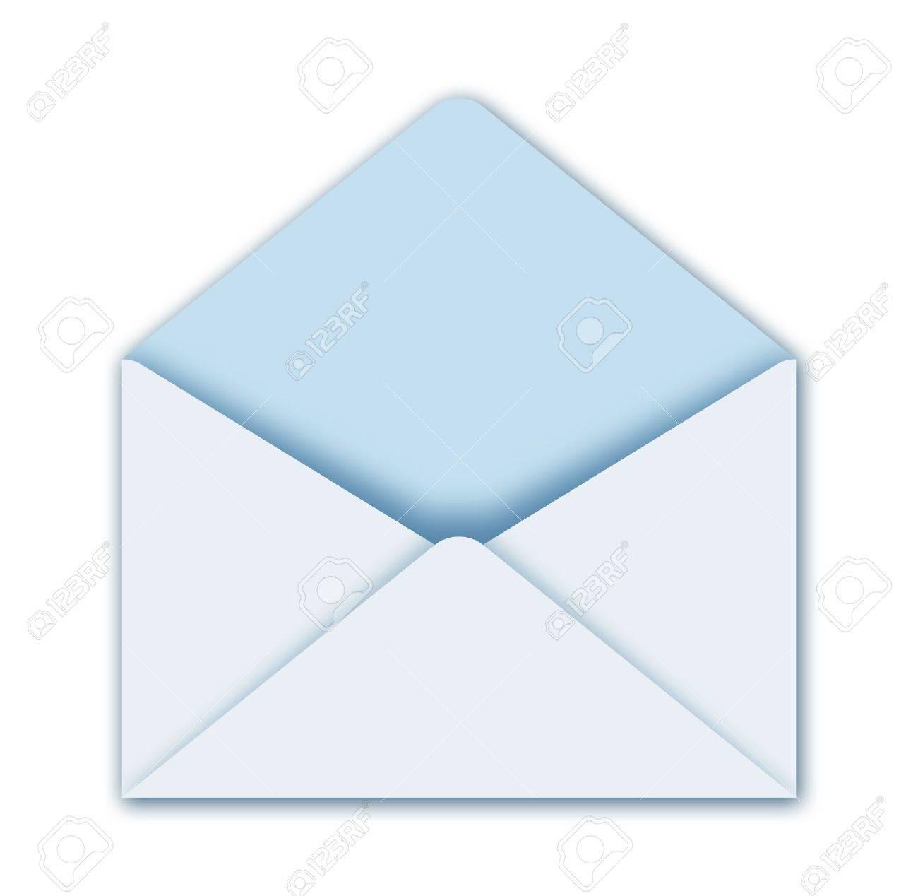 illustration of open postal envelope Stock Photo - 8904745