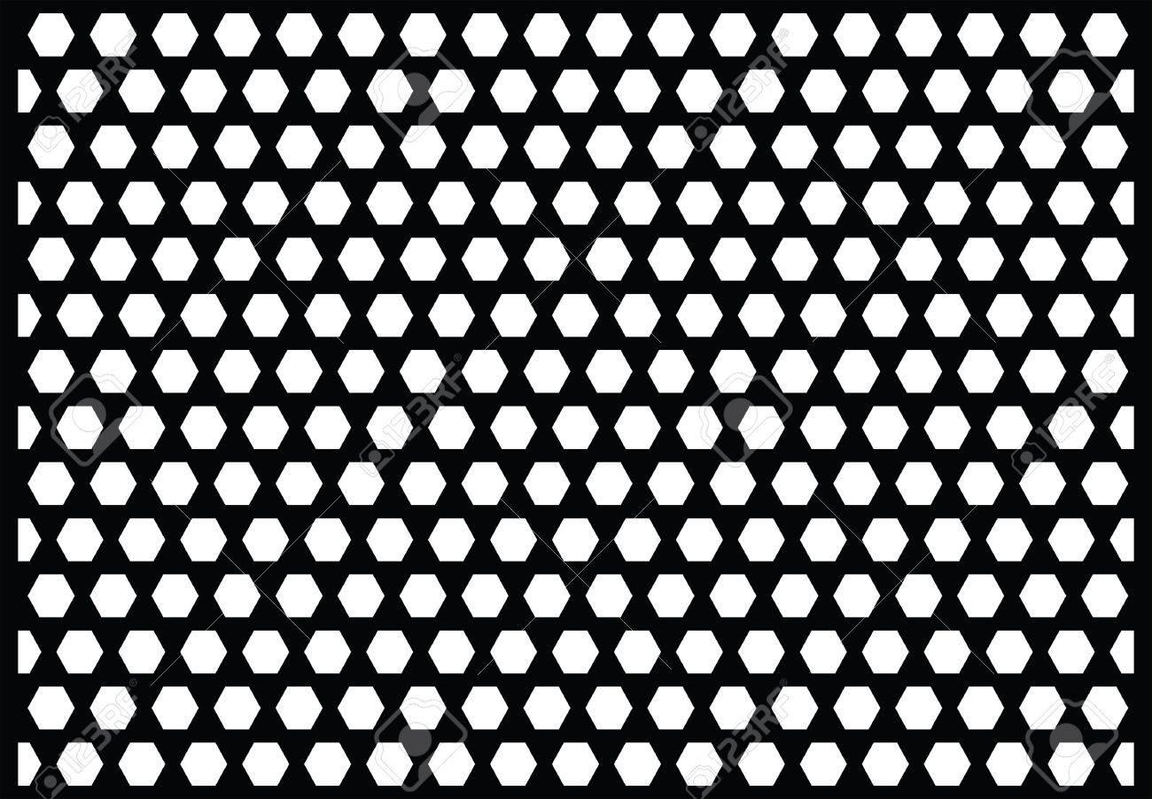 Pattern From Microwave Oven Door, Vector Illustration Stock Vector   8695625