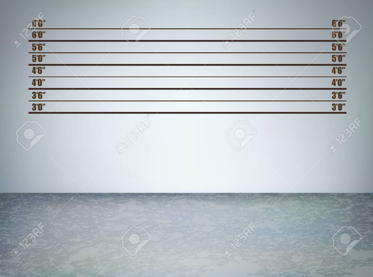 Background of  a police lineup, vector illustration with copy space Stock Vector - 12048058