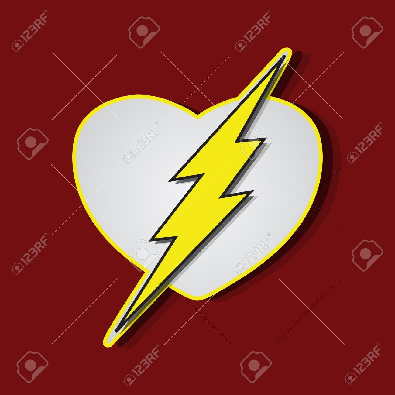 Superhero shields shaped like a hearts symbol for strong love superhero shields shaped like a hearts symbol for strong love eps10 vector stock vector buycottarizona Gallery