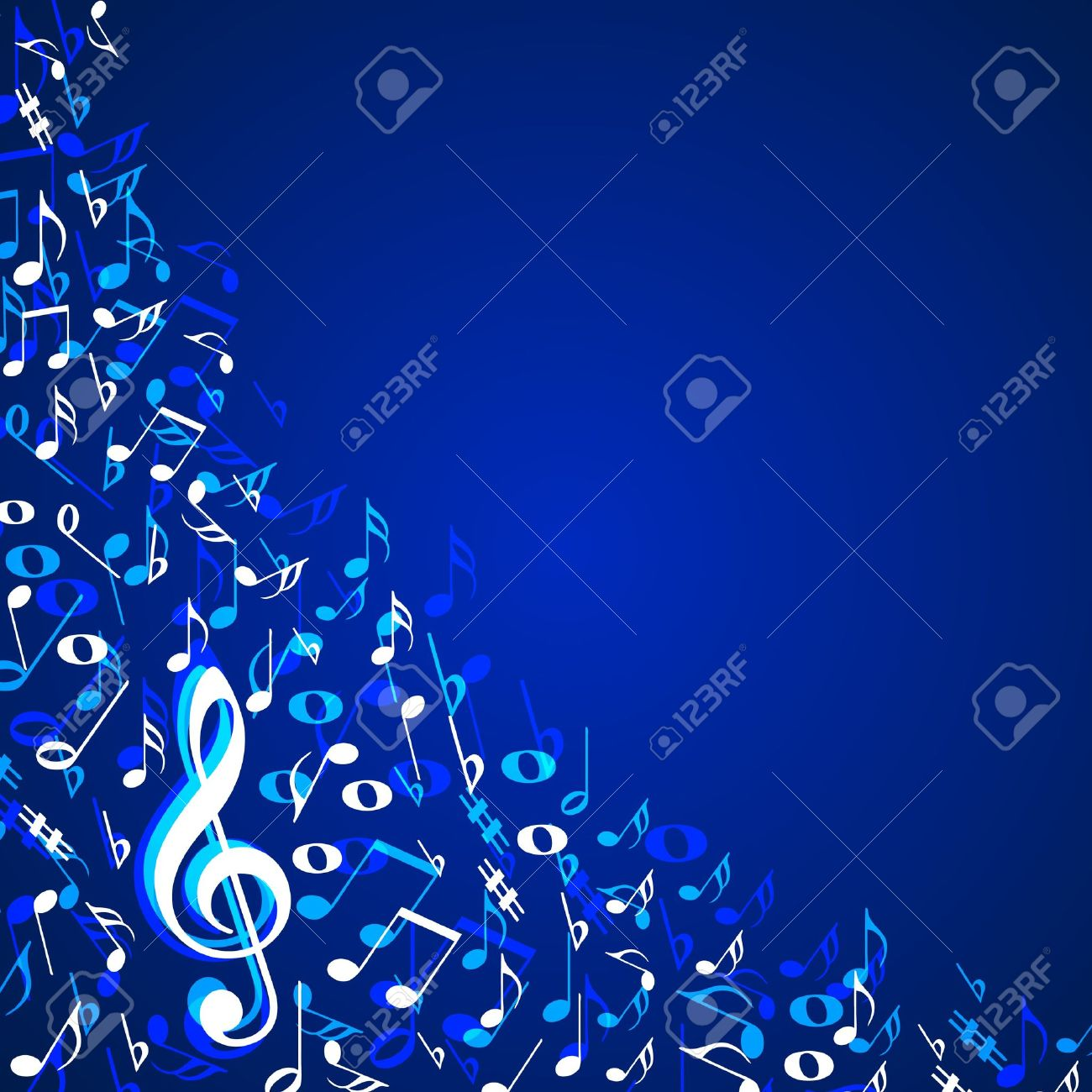 Music notes background royalty free cliparts vectors and stock music notes background voltagebd Image collections