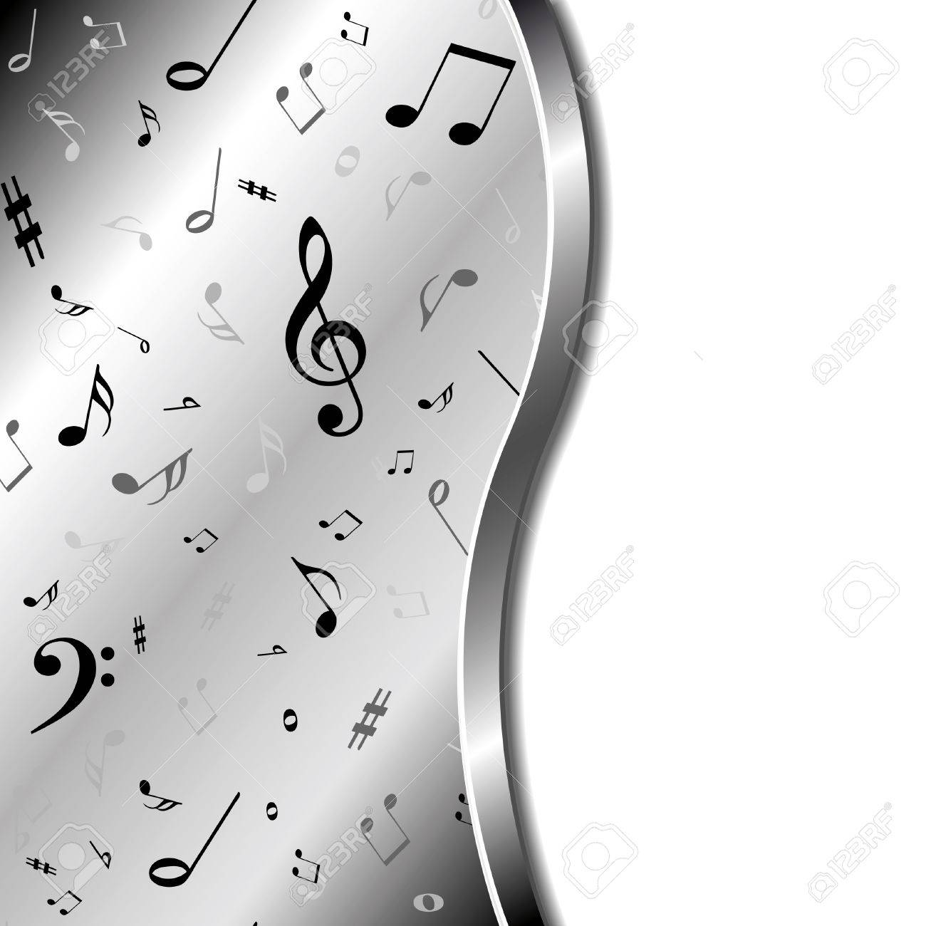 Music background Stock Vector - 10555585