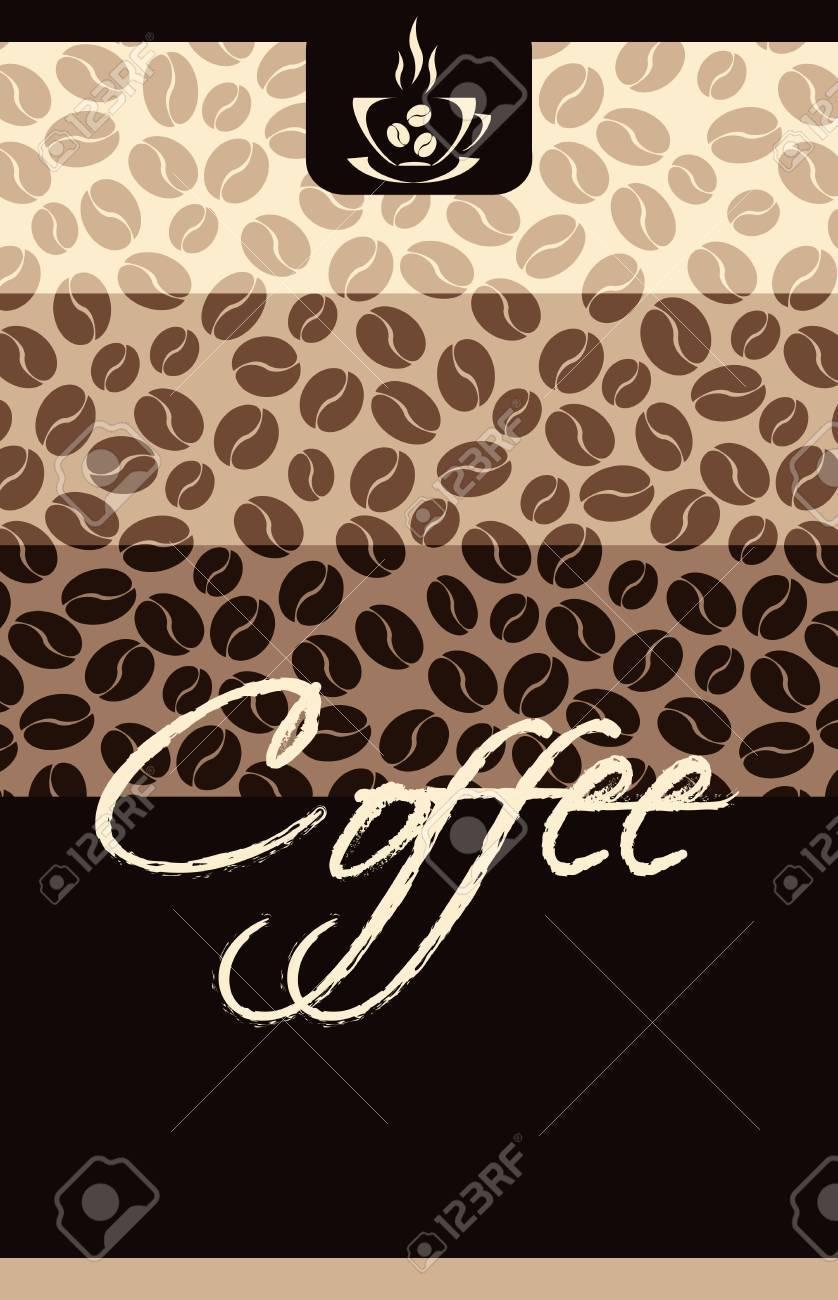 Template Coffee shop menu Stock Vector - 10908039