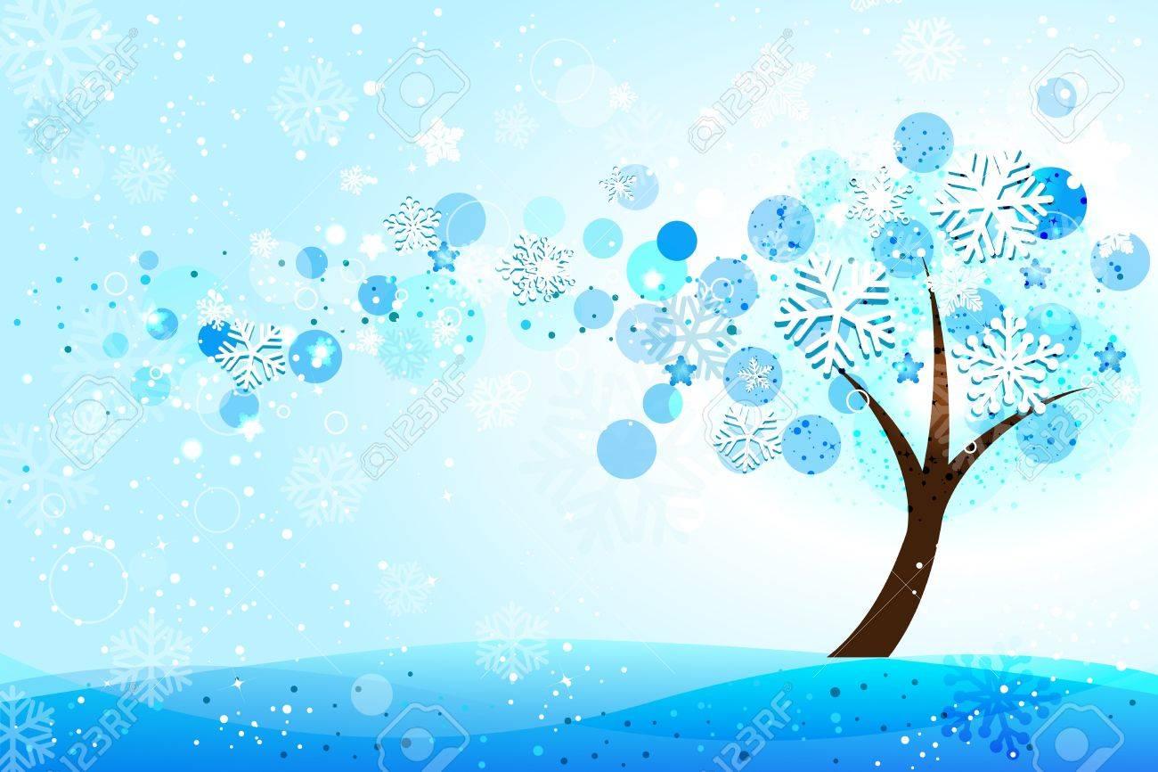 Winter background Stock Vector - 11209166