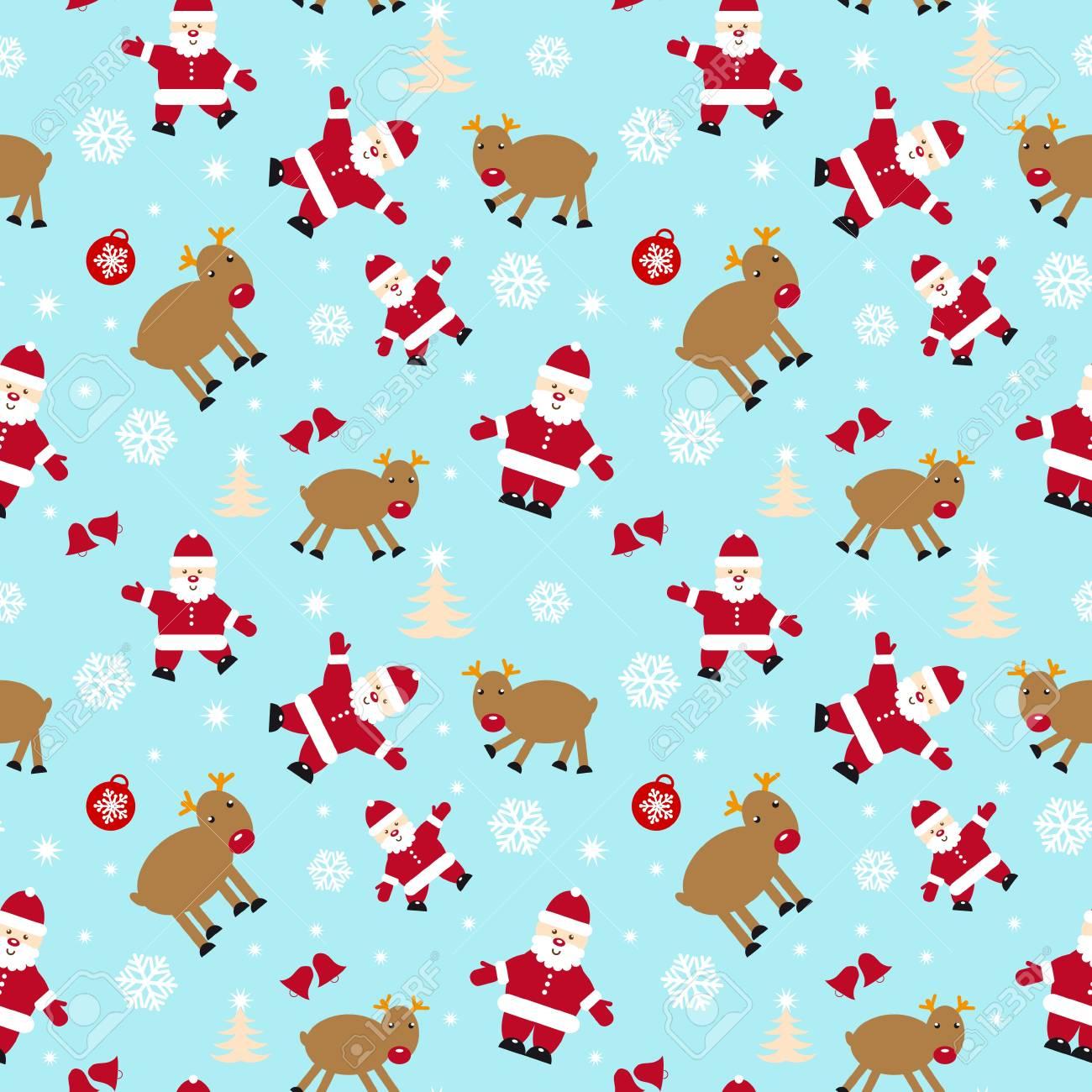 Christmas seamless Stock Vector - 12223669