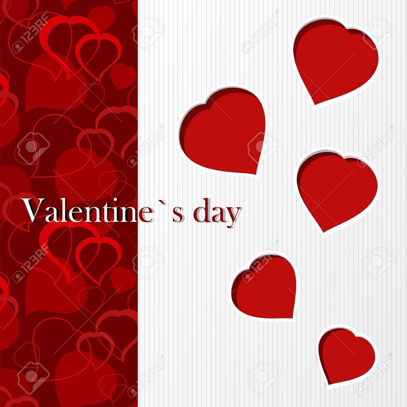 Valentine`s card - I love you Stock Vector - 12223609