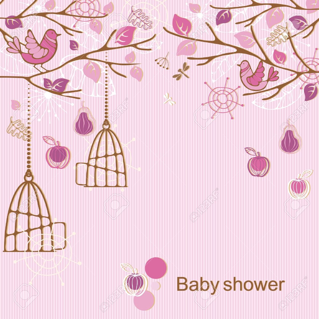 Baby Shower Girl Royalty Free Cliparts Vectors And Stock