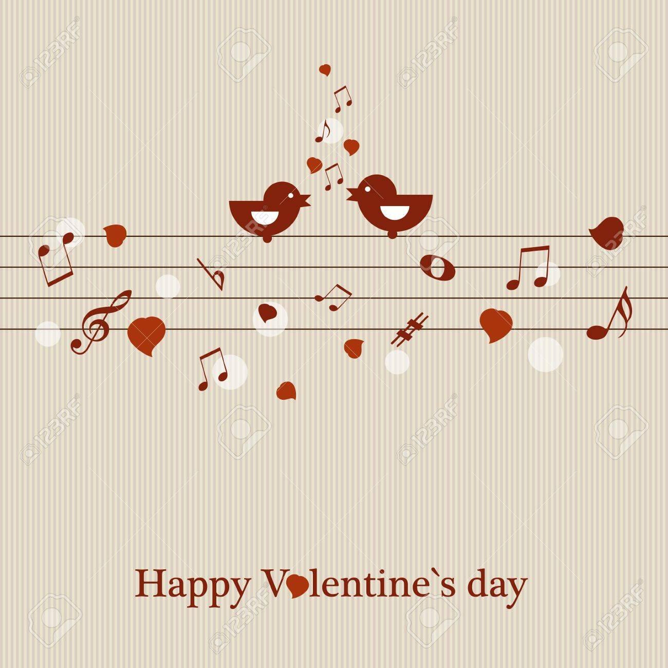 Valentine s card Stock Vector - 17553130