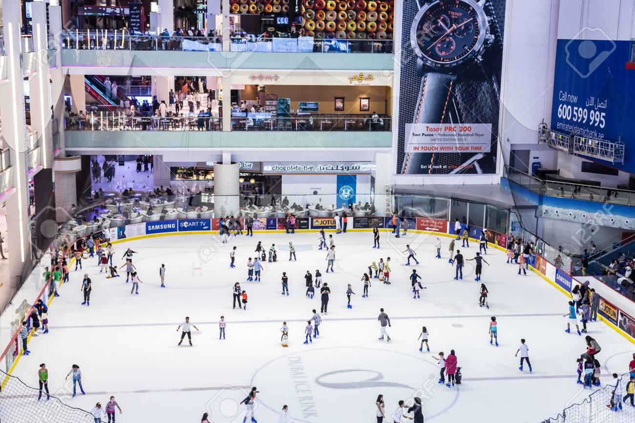 Dubai Ice Rink Dubai Mall Ice Rink of The Dubai Mall