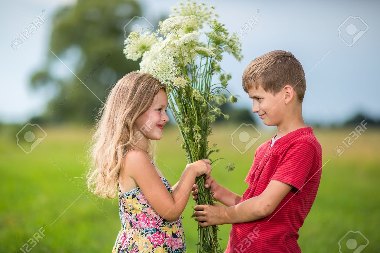 Love picture boy and girl