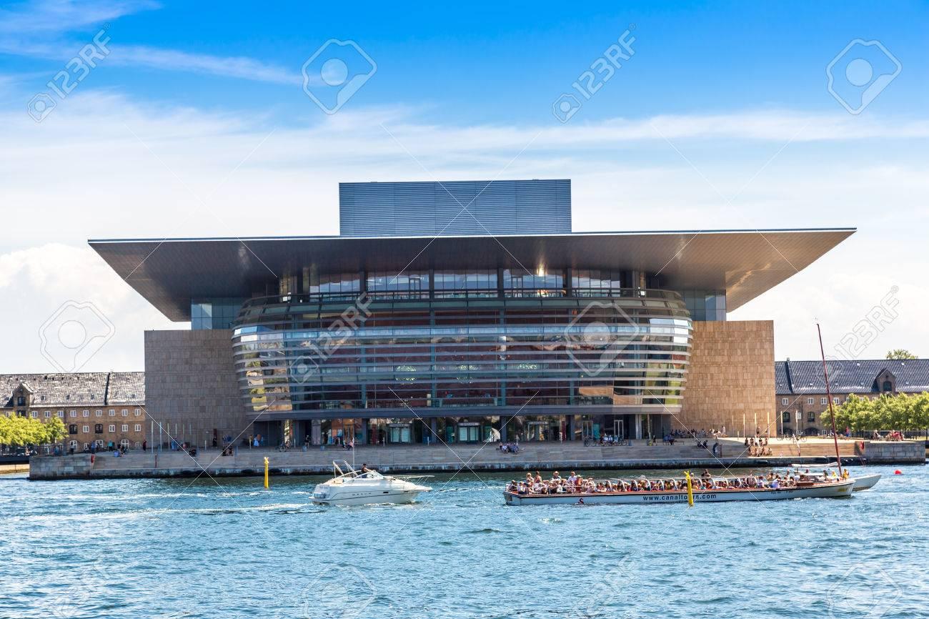 COPENHAGEN DENMARK JULY 25 Opera House One Of The The Most