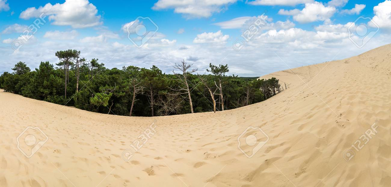 Dune Of Pilat Dune Du Pyla The Tallest Sand Dune In Europe