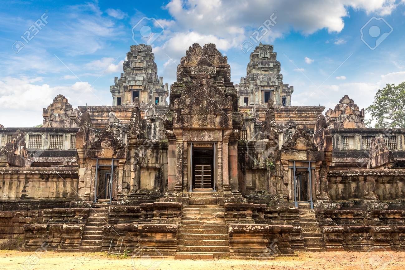 Ta Keo Temple Ruins Is Khmer Ancient Temple In Complex Angkor ...