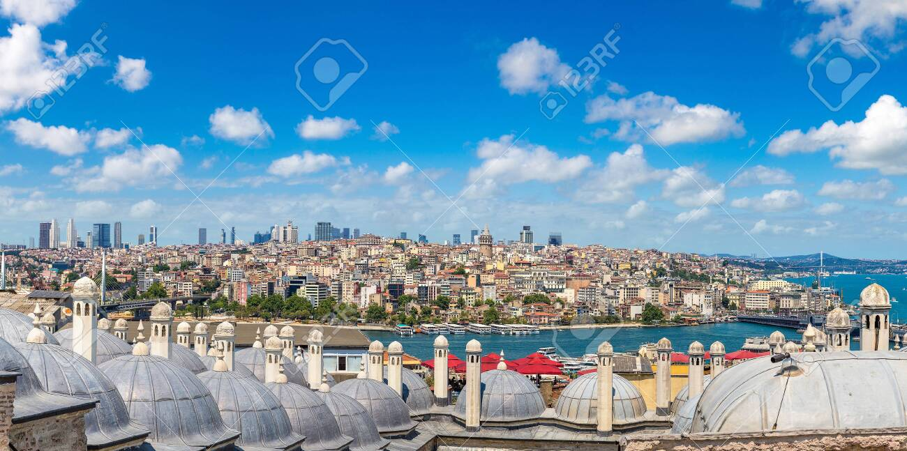 Istanbul view, Turkey in a beautiful summer day - 149432182