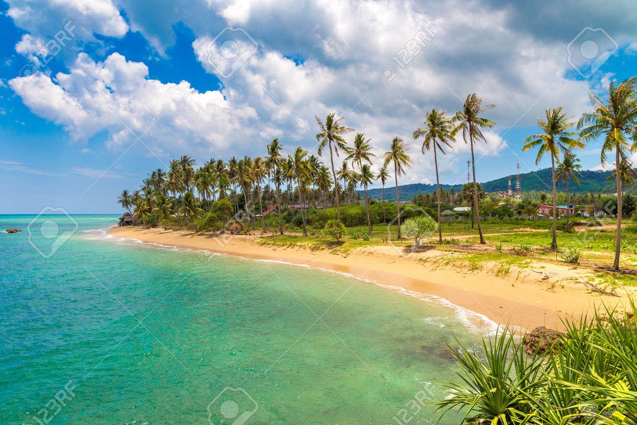 Khong Klong beach on Koh Lanta Yai island, Thailand in a sunny day - 173329189