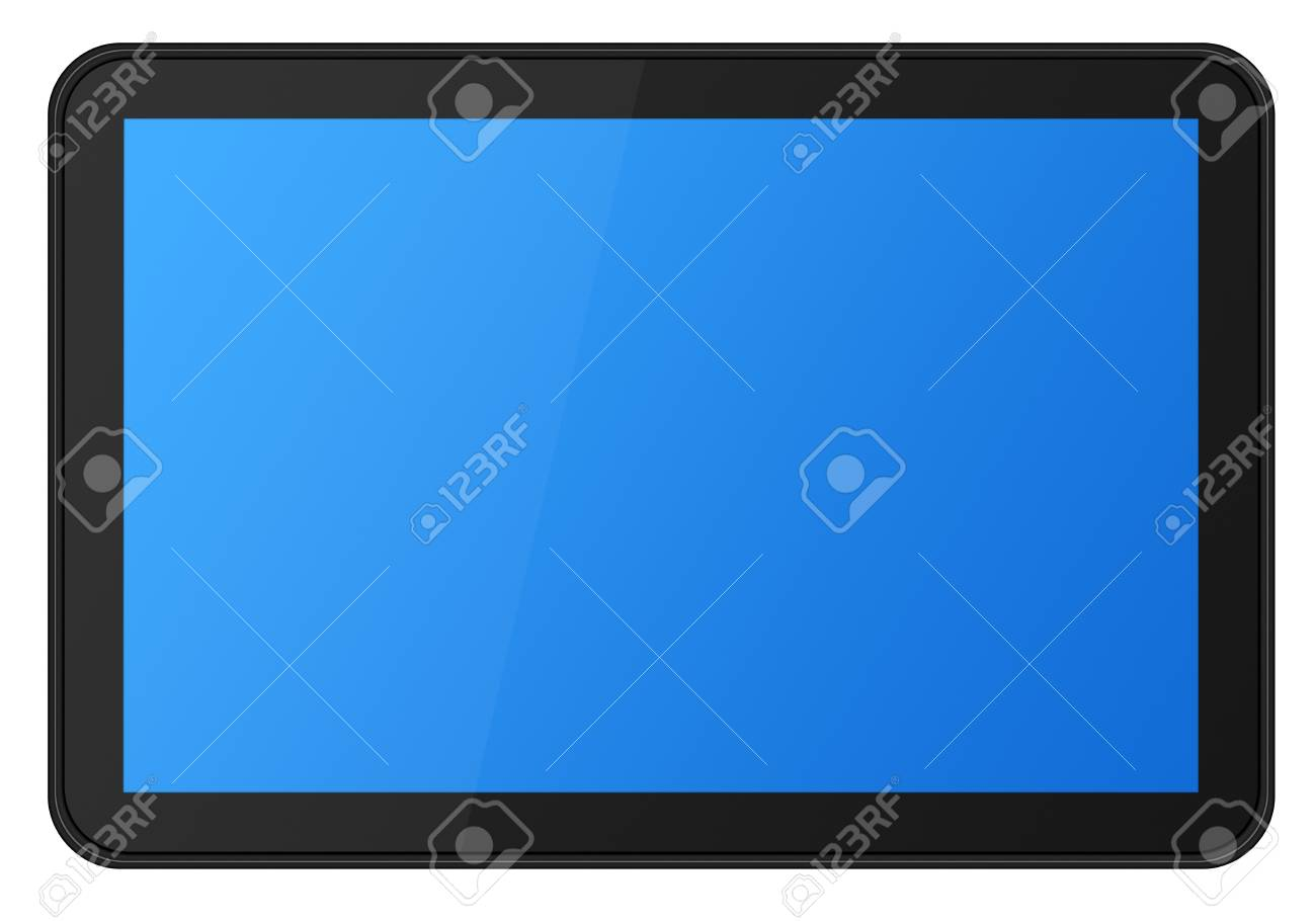 Touch screen digital tablet Stock Photo - 9356774