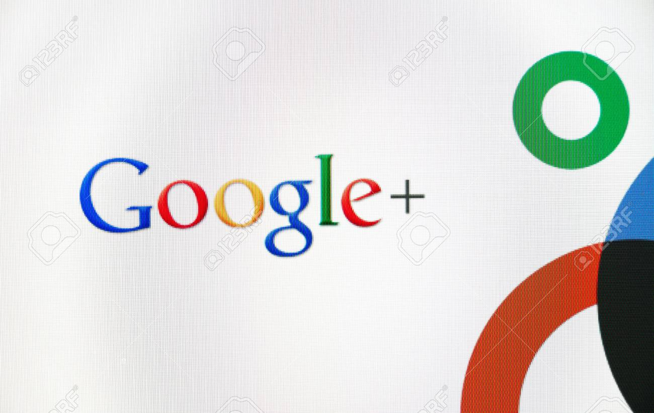 Kiev, Ukraine - Jule 21, 2011:  In June 28, 2011 Google Inc. launched a new social network called Google+. Stock Photo - 10006587