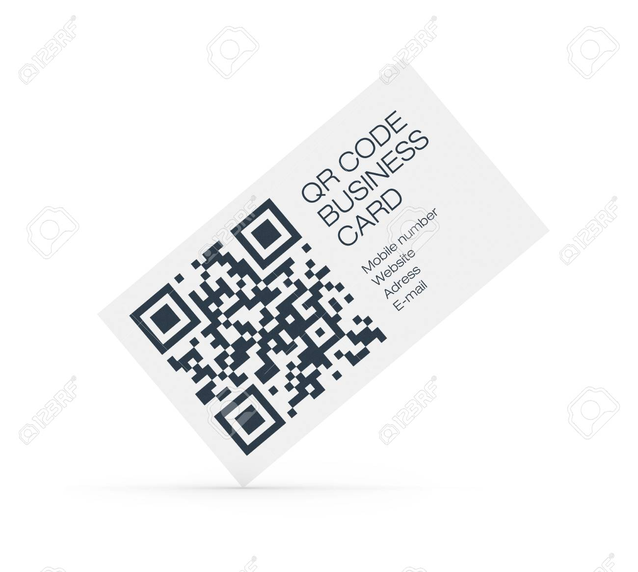 Qr business cards idealstalist qr business cards reheart Choice Image
