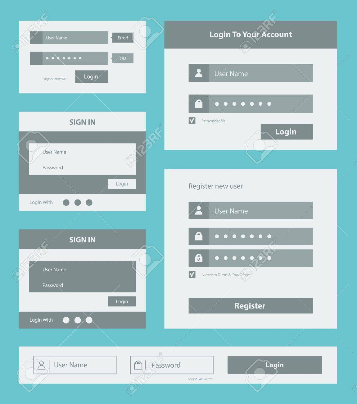 9,893 Application Form Stock Vector Illustration And Royalty Free ...