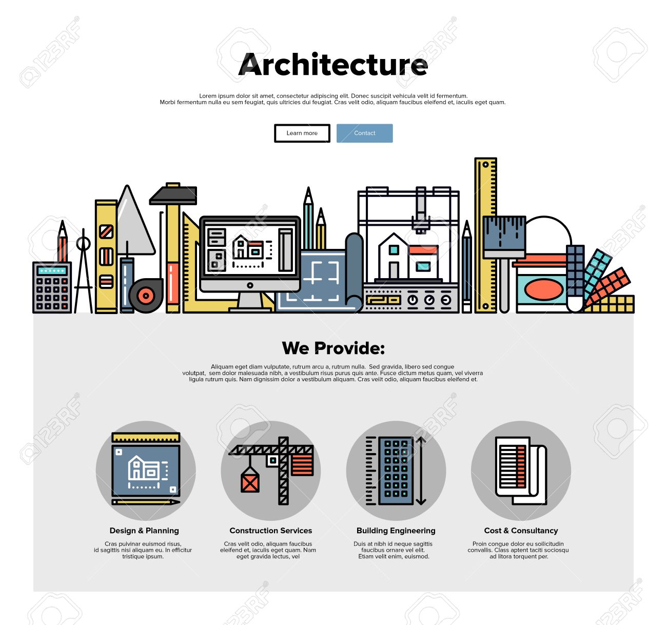 Architecture Design Template unique architecture design template pack from serif com for
