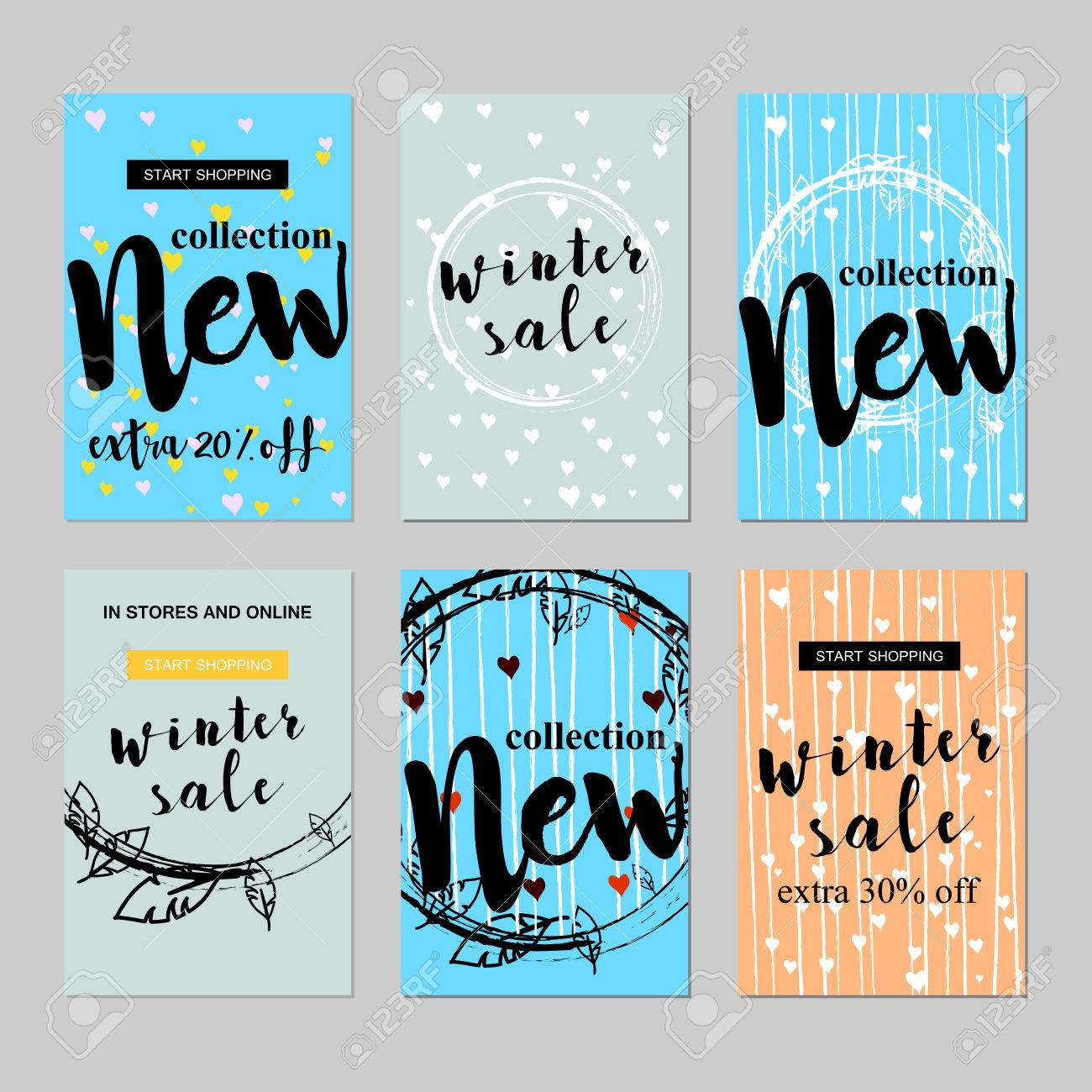 Sale Website Banners Design Set Sale Tag Sale Promotional Material Royalty Free Cliparts Vectors And Stock Illustration Image 69087904