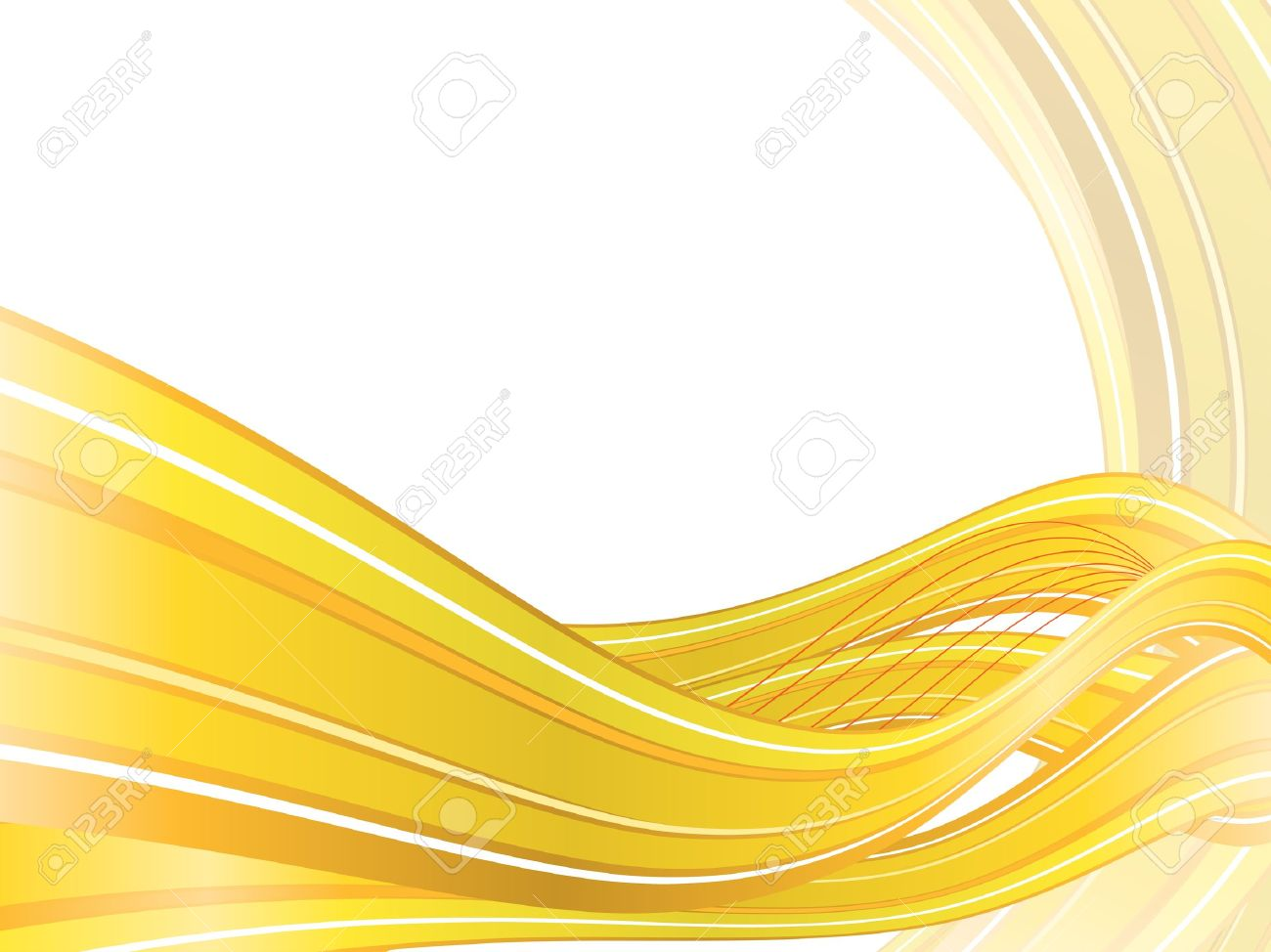 Abstract Vector Background With Yellow Waves Eps10 Royalty Free ... for Yellow Vector Graphics Design Background  570bof