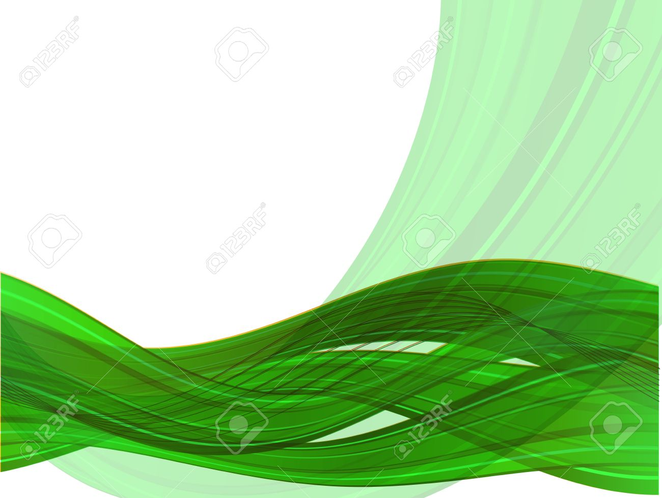 Abstract vector background with color waves  eps10 Stock Vector - 12486825