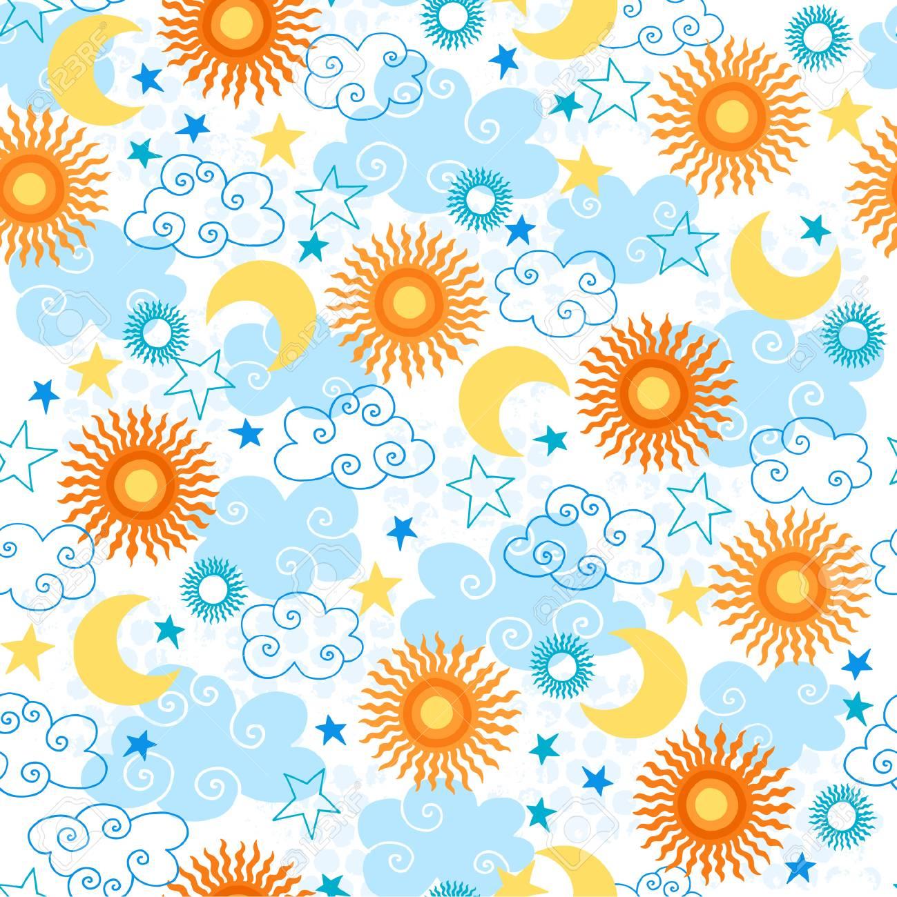 Seamless Repeat Pattern Vector Illustration Stock Vector - 3668439