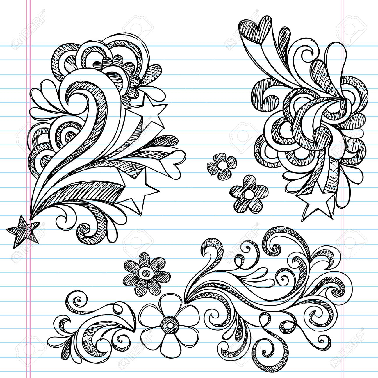Flower Designs Patterns to Draw Cool Flower Patterns to Draw