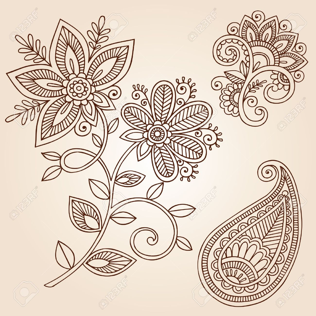 73,114 Henna Stock Illustrations, Cliparts And Royalty Free Henna ...