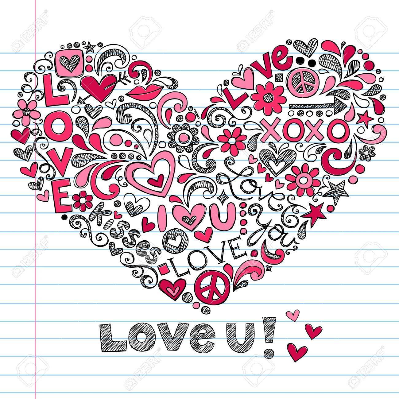 Heart Love Stock Vector - 16693314