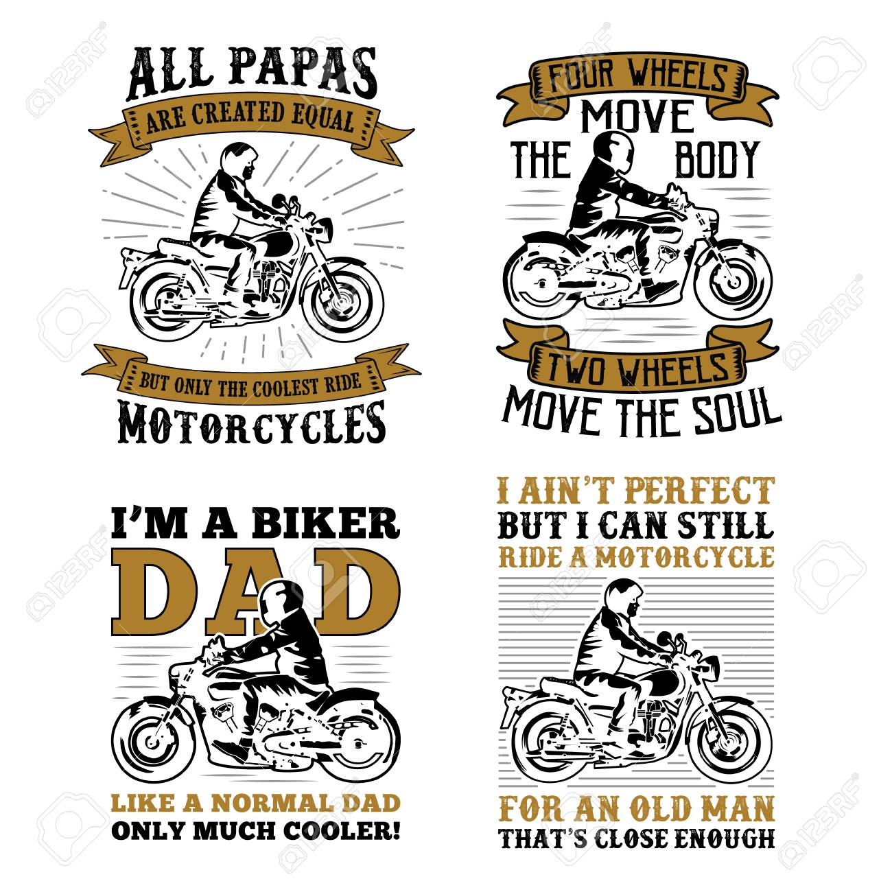 d86bf37d Biker Quotes Saying, 100% Vector Best For Print Design Like T-shirt ...