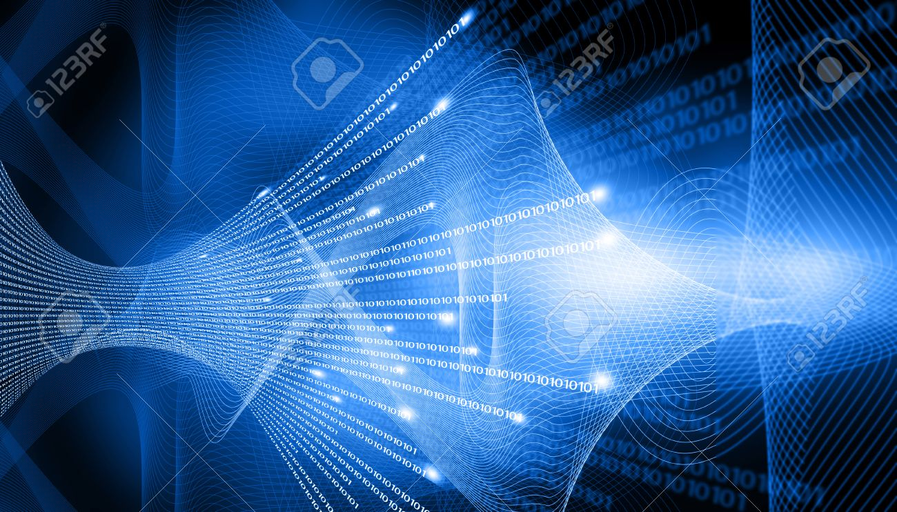 binary stream hi tech technological background stock photo picture