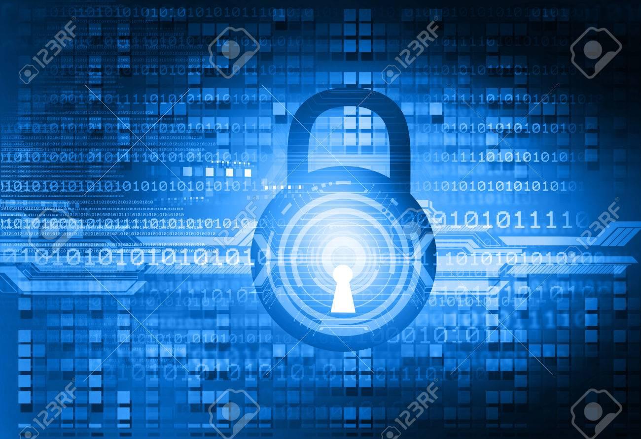 Digital background of Internet Security - 52102788