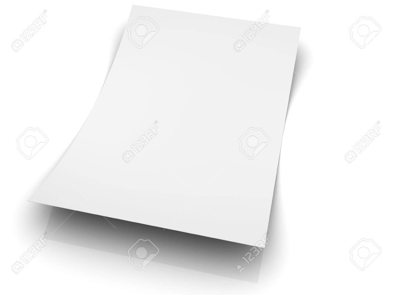 Blank sheet Stock Photo - 4501662