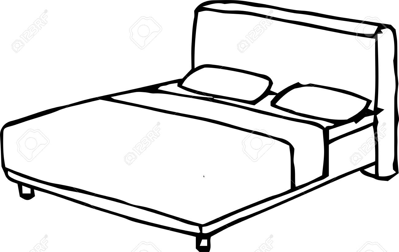 This Is A Rough Sketch Of The Bed Royalty Free Cliparts Vectors And Stock Illustration Image 117625057 Share your art and connect. this is a rough sketch of the bed
