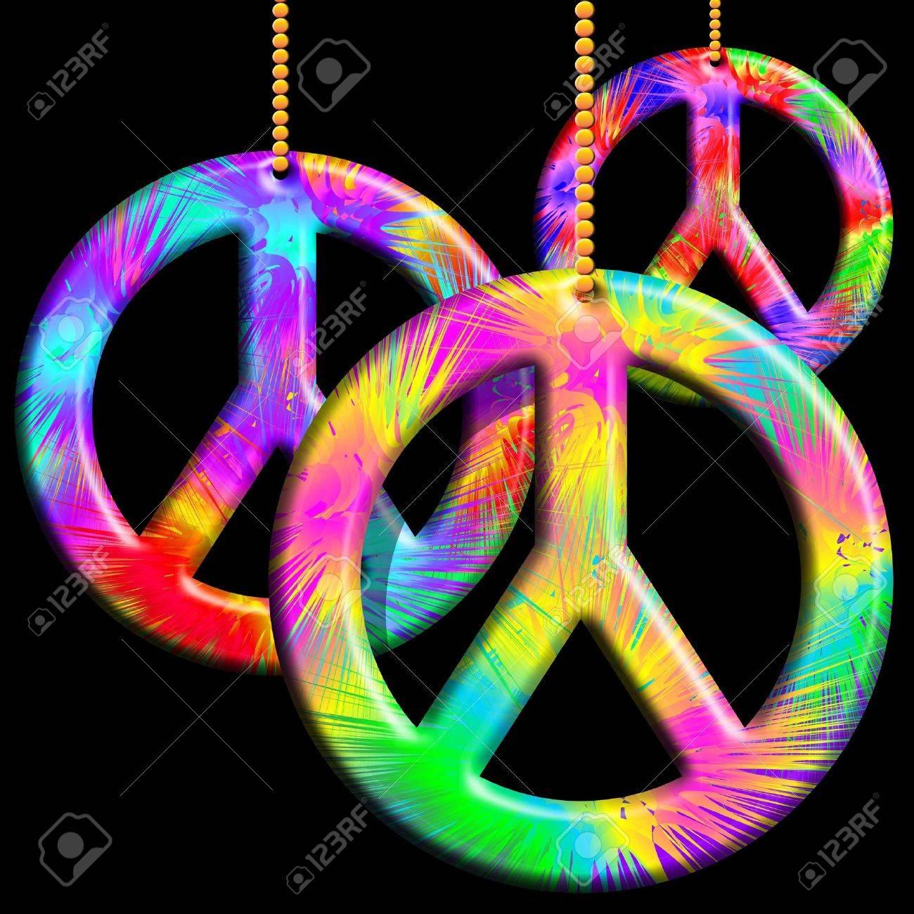 Peace symbols psychedelic ornaments stock photo picture and royalty peace symbols psychedelic ornaments stock photo 15906757 biocorpaavc Images
