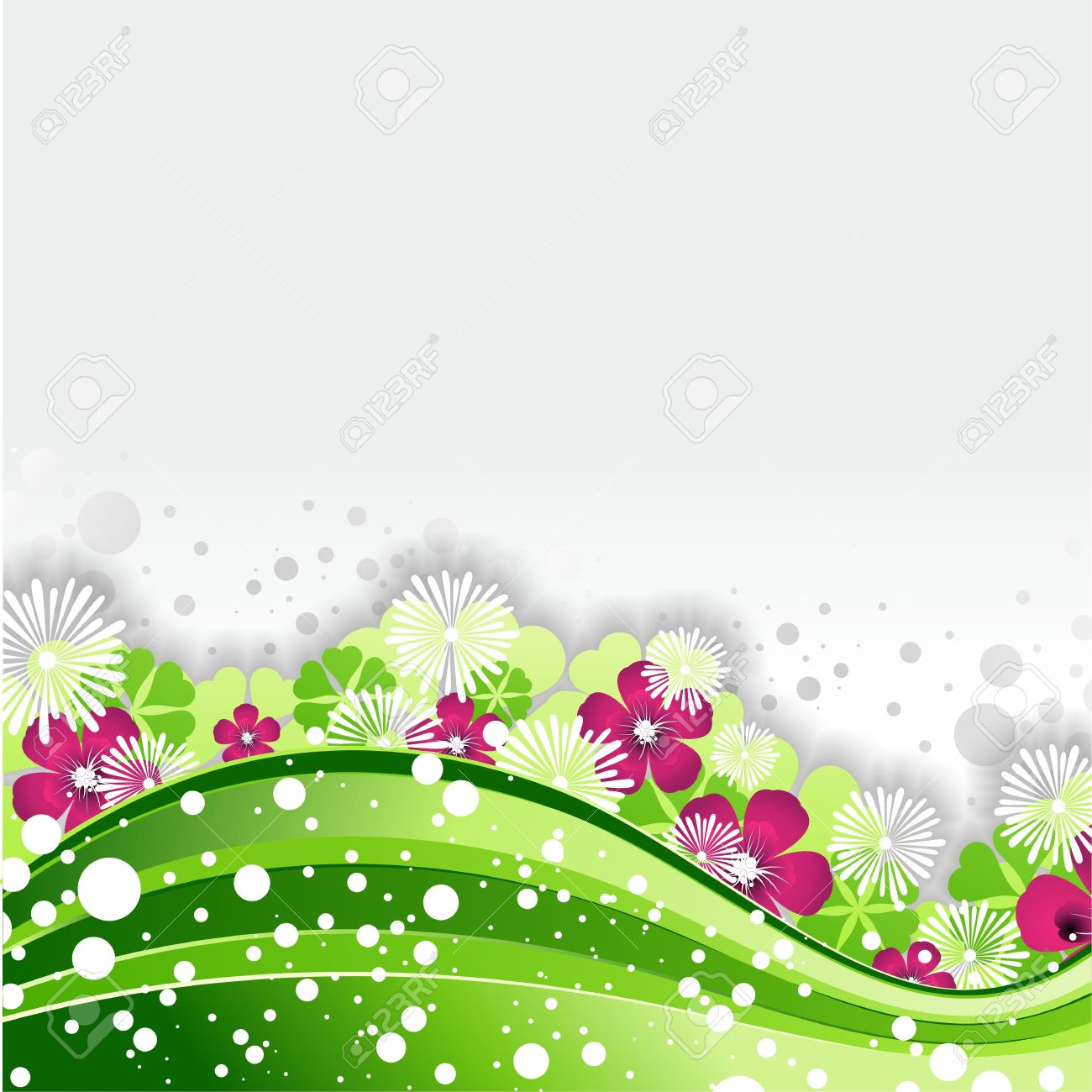 green nature wave design background royalty free cliparts vectors