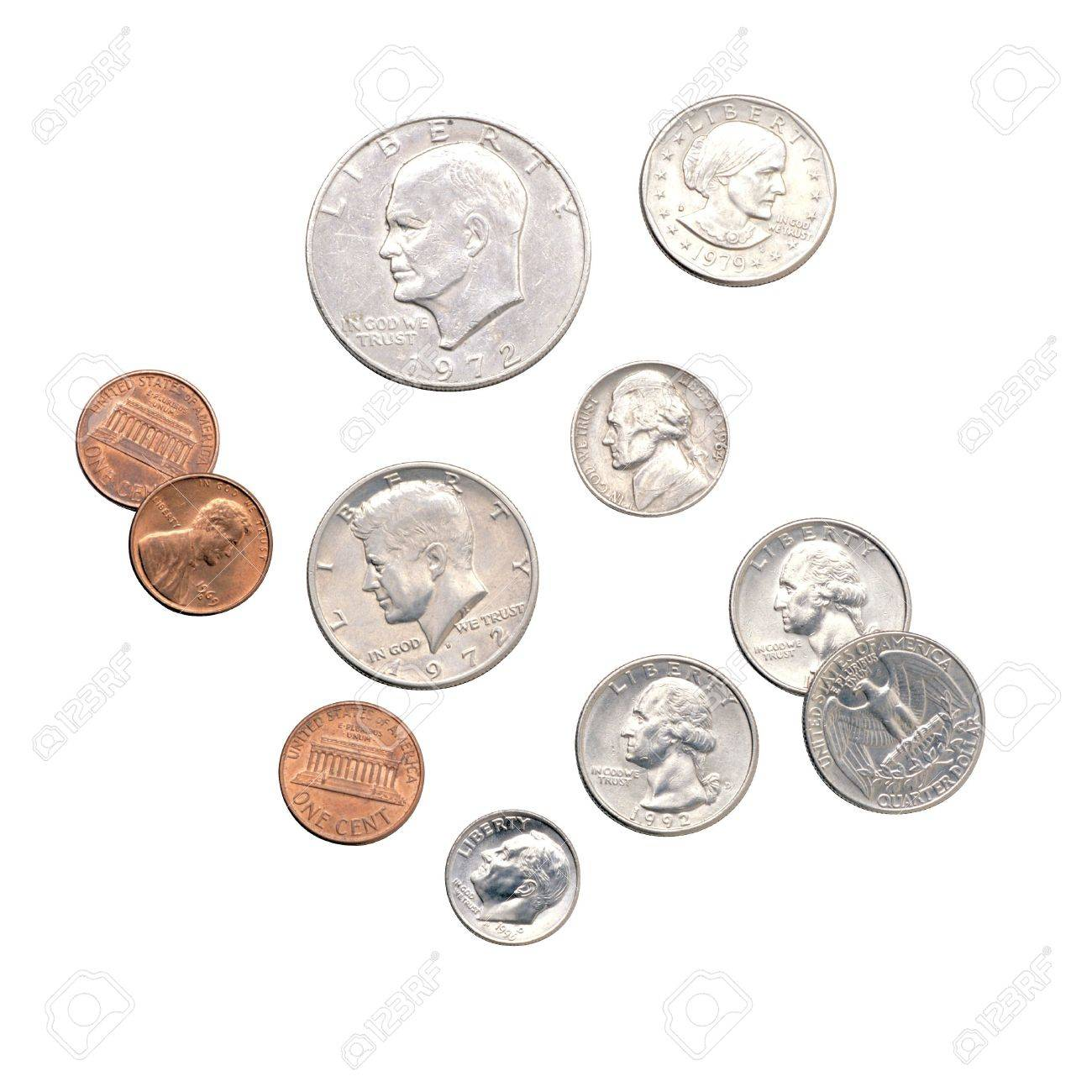 Coins, Change, Money Stock Photo, Picture And Royalty Free Image ...