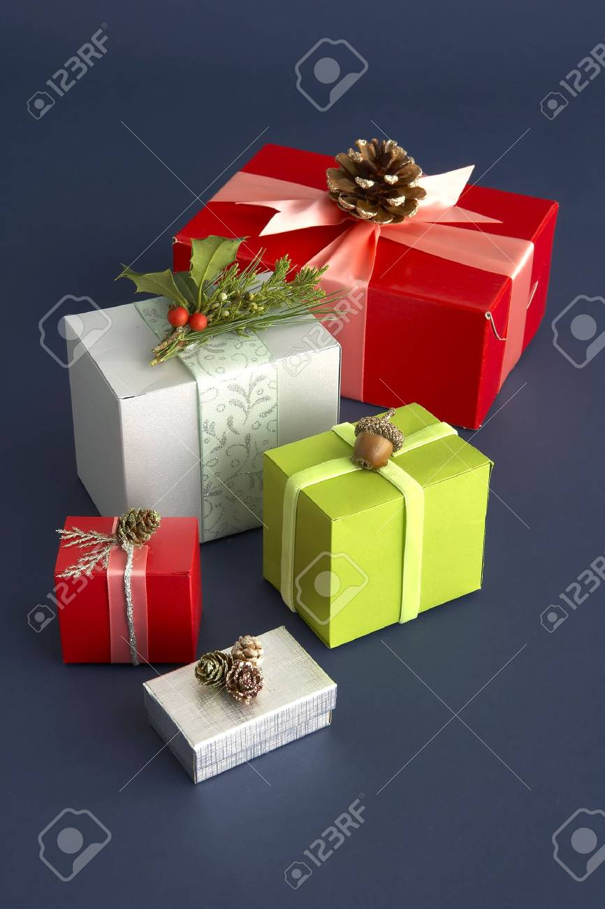 beautiful gift boxes Stock Photo - 5884449