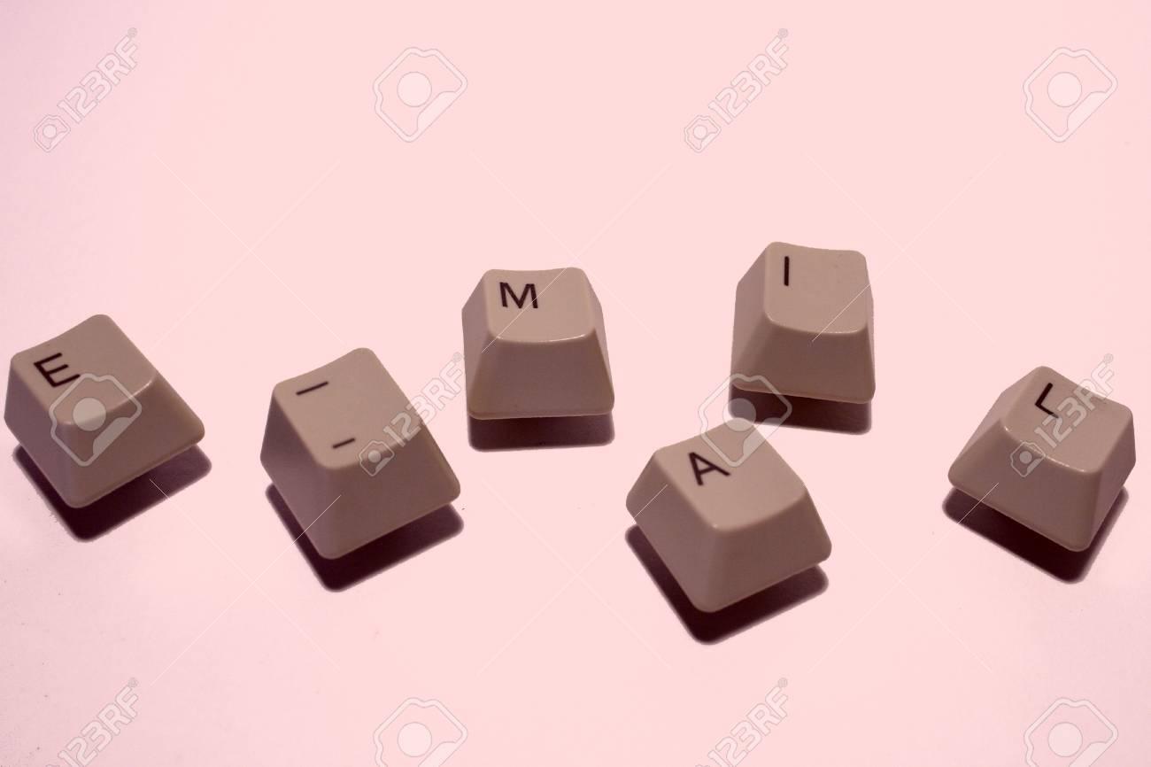 e-mail keys Stock Photo - 692170