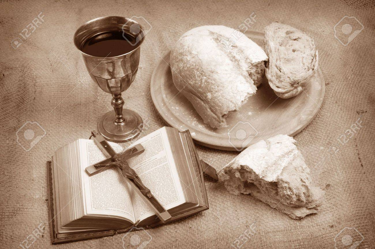 A still life depicting Holy Communion. - 6625777