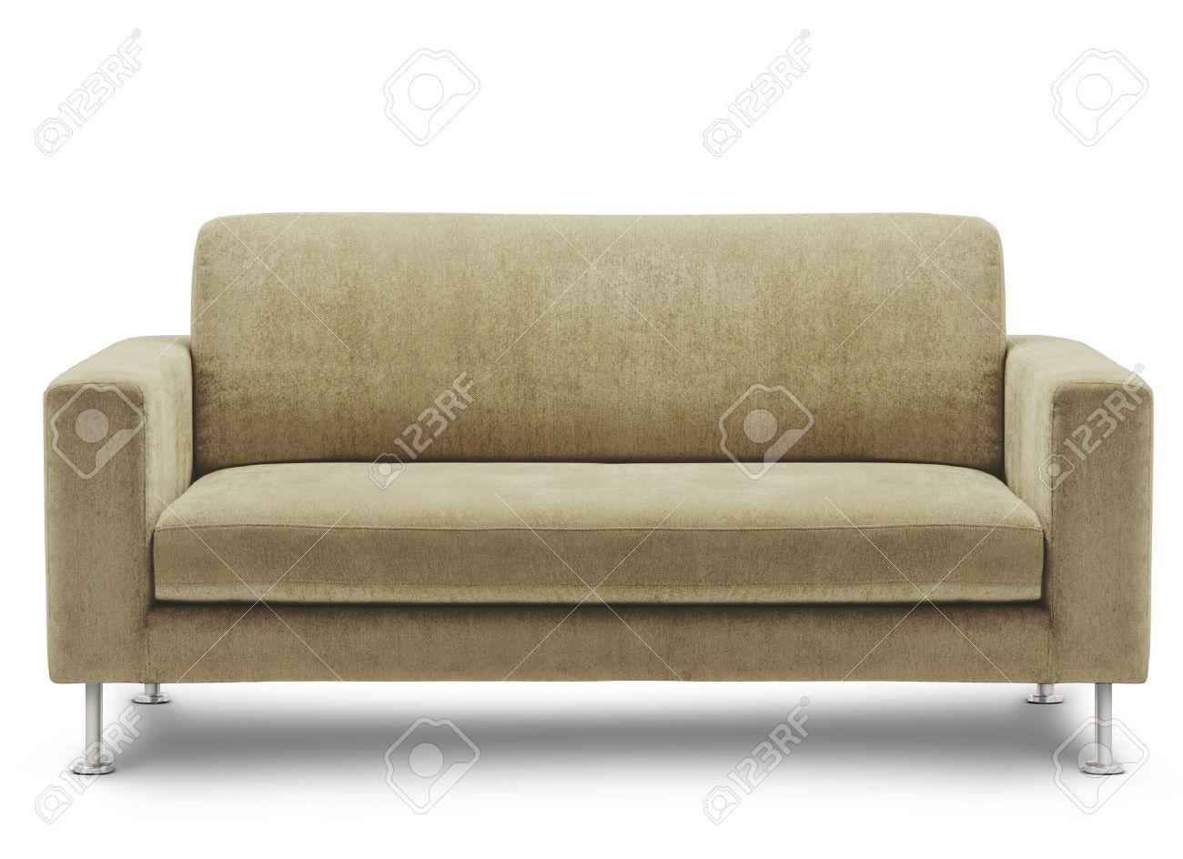 sofa furniture isolated on white background Stock Photo - 12320749