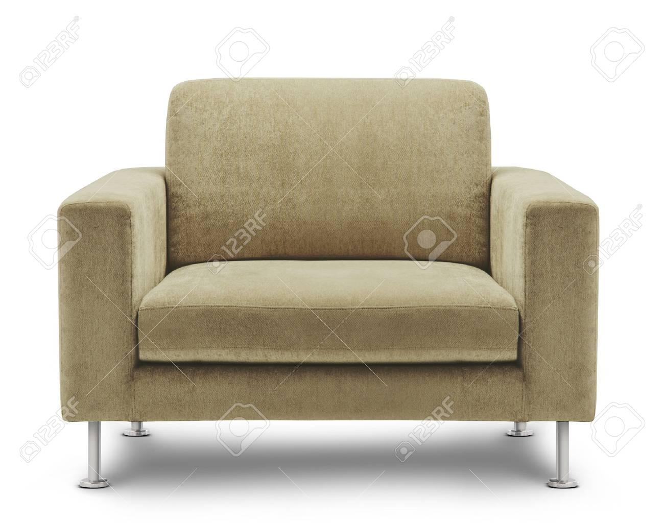 Außergewöhnlich Sofa Möbel Beste Wahl Möbel Isoliert Auf Weißem Hintergrund Standard-bild -
