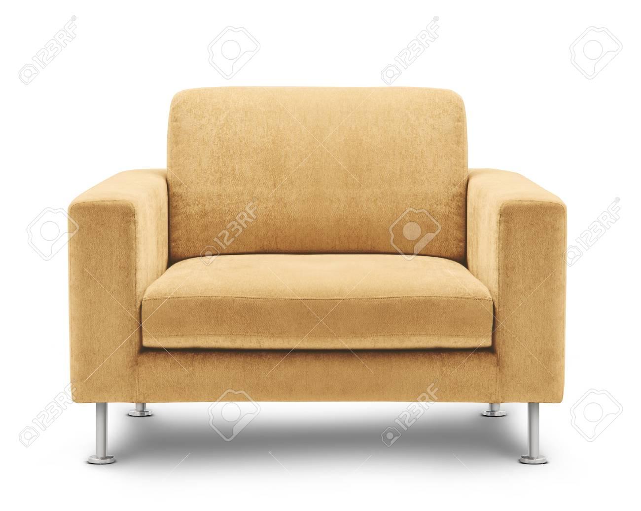 sofa furniture isolated on white background Stock Photo - 12319893