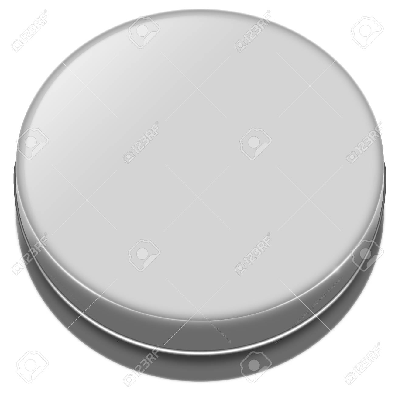 aluminum box, can container isolated on white Stock Photo - 19807190