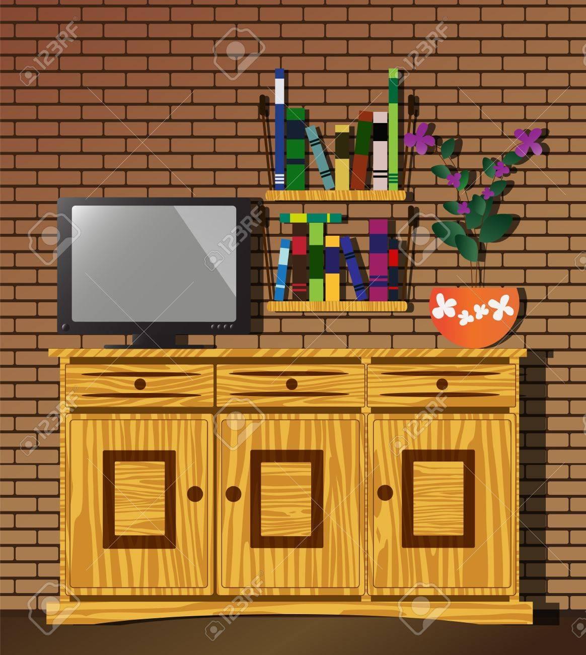 Living room Stock Vector - 10768425