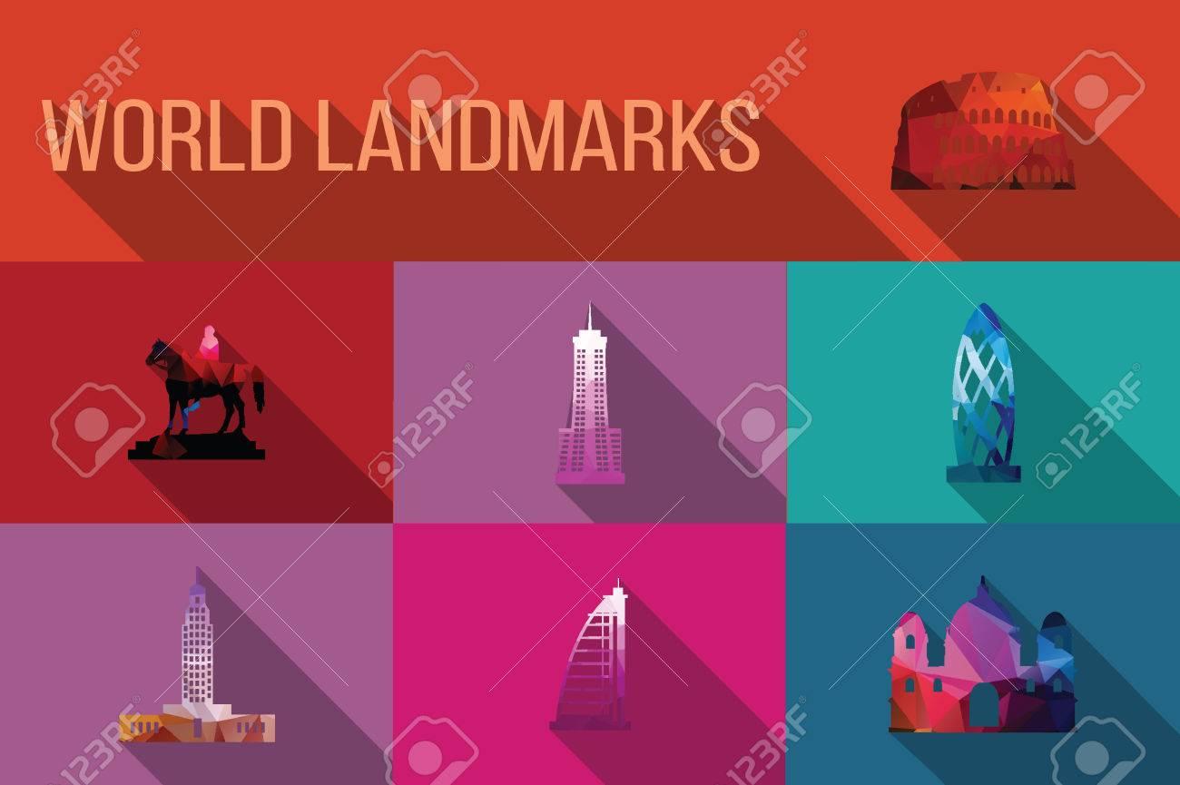 Landmarks Vector Vector World Landmarks